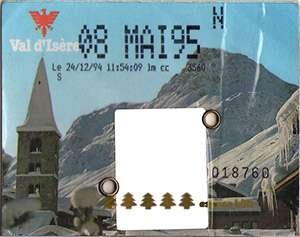 [Val d'Isère]Anciens forfaits Val Forfait1995