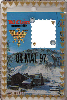 [Val d'Isère]Anciens forfaits Val Forfait1997