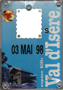 [Val d'Isère]Anciens forfaits Val Forfait1998